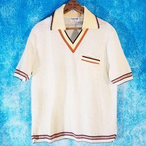 VTG 60s Deadstock Rare Lahmar Terry Sport Shirt